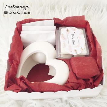 Lovely - Box de fondants parfumés naturels