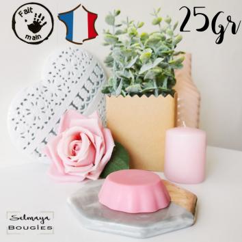Bouquet de roses 25gr - Fondant bougie parfumé naturel