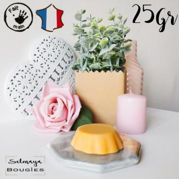 Fleur d'oranger 25gr - Fondant bougie conçu de façon artisanale