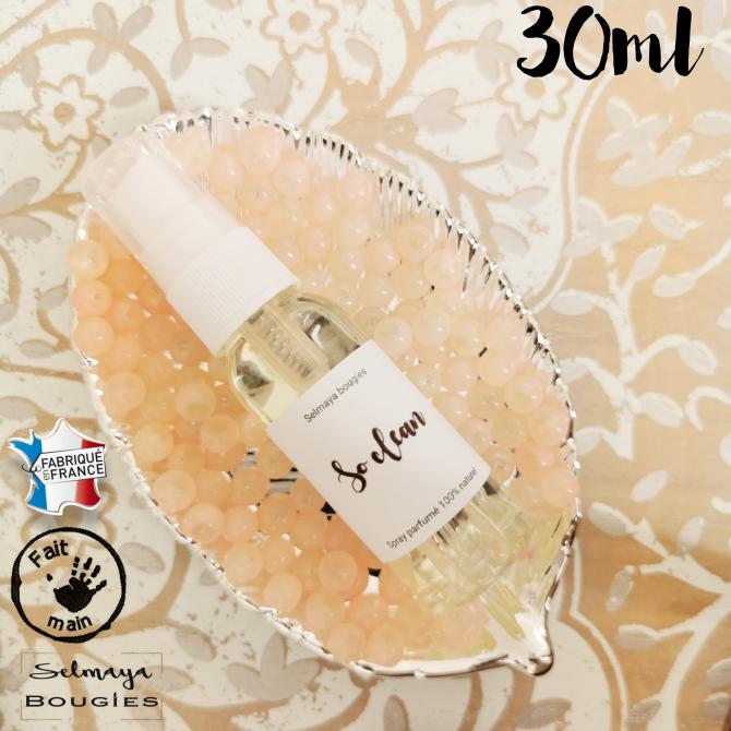 So clean 30ml / Spray parfumé pour linge de maison