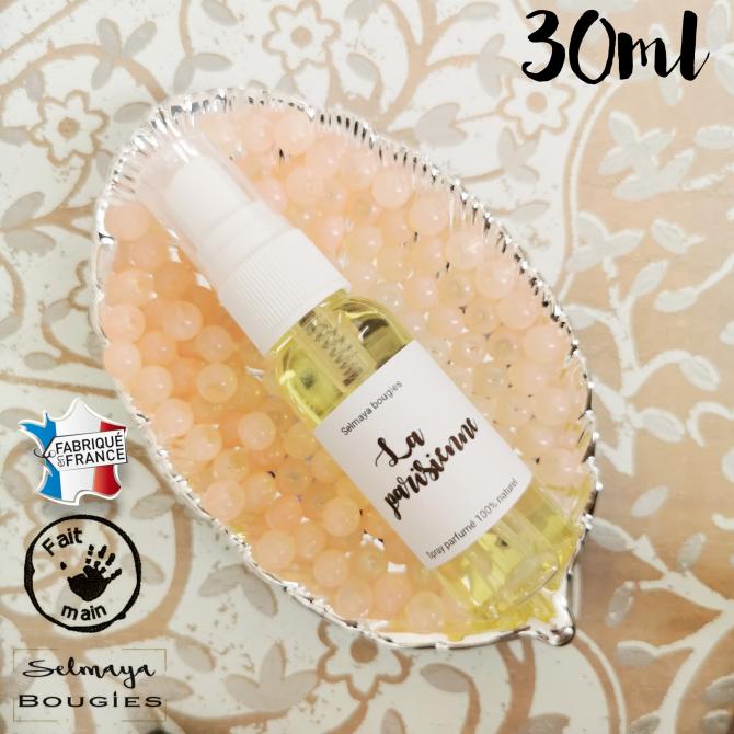 La parisienne 30ml - Spray parfumé naturelle pour linge de maison