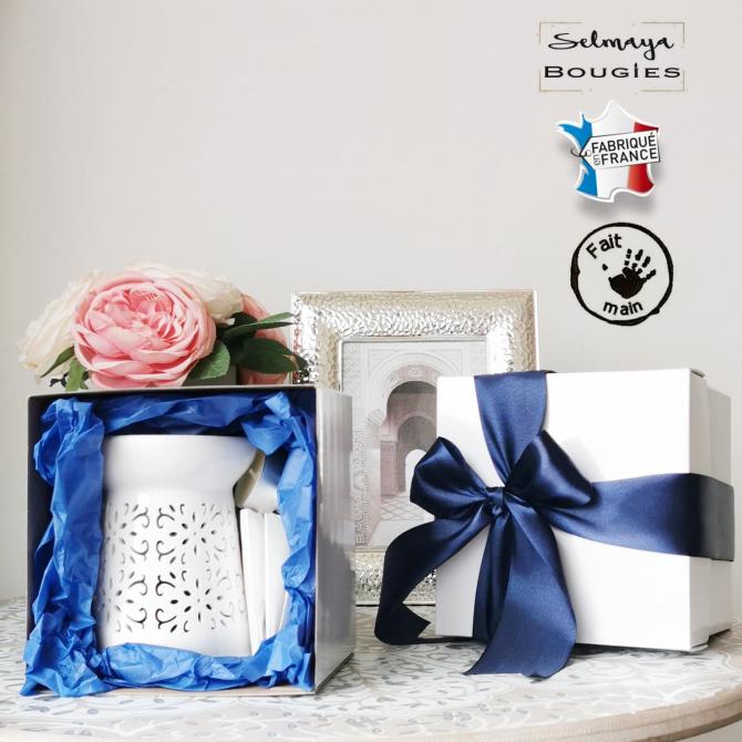 Azur - Coffret de fondants parfumés naturels selmaya bougies