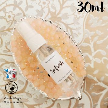 So fresh - Spray parfumé naturel sans alcool - Selmaya bougies