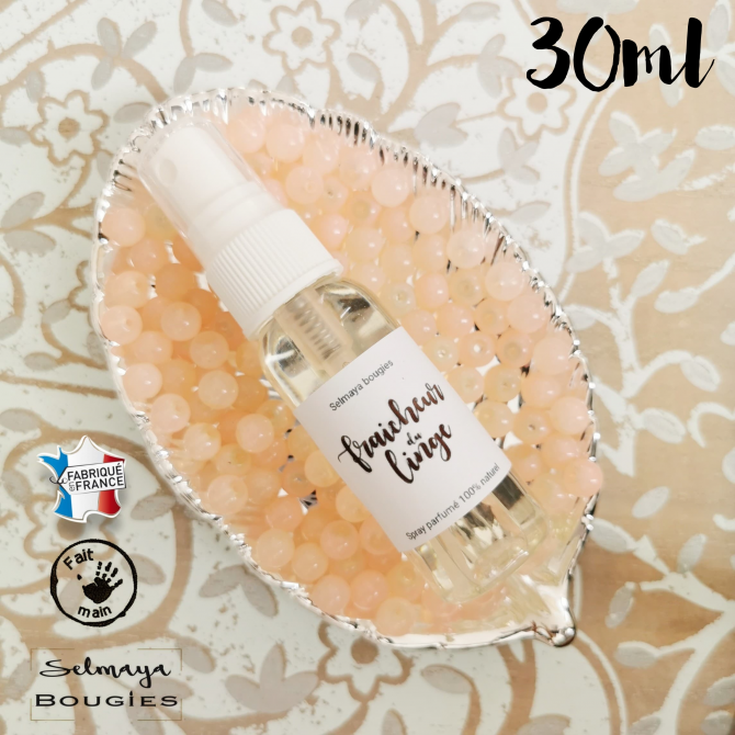 Fraicheur du linge - Spray parfumé naturel pour textile