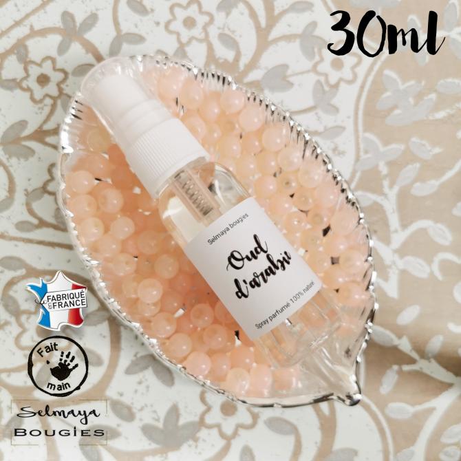 Oud d'arabie - Spray parfumé naturel pour linge de maison