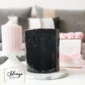 Zen noir - Brule parfum noir en céramique