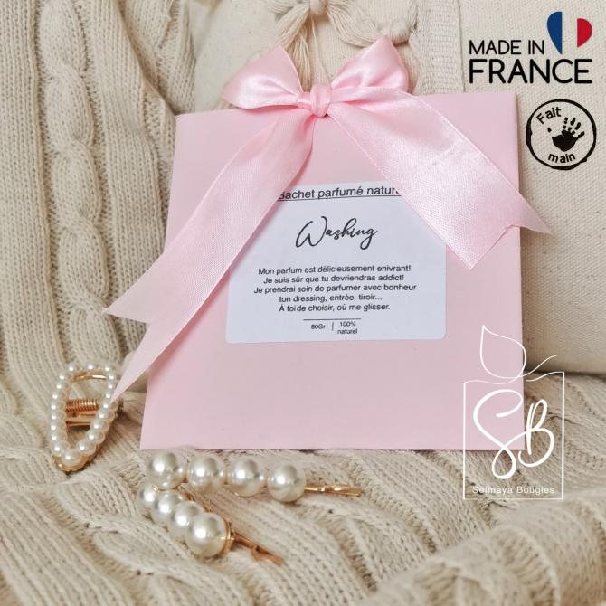 Washing - Sachet parfumé naturel pour armoire et dressing