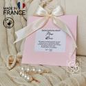 Musc blanc - Sachet parfumé naturel pour parfumer les petits espaces clos