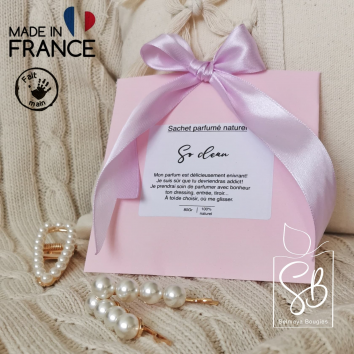 So clean - Sachet parfumé naturel fait main