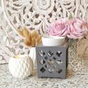 Casablanca gris anthracite - Bruleur pour fondant parfumé naturel