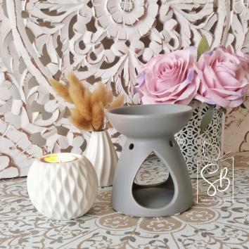 Elisa Gris - Brule parfum pour fondant parfumé