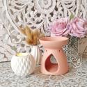 Elisa rose - Bruleur pour fondant parfumé pas cher