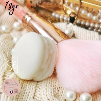 Musc blanc - Fondant bougie parfumé naturel - pièce