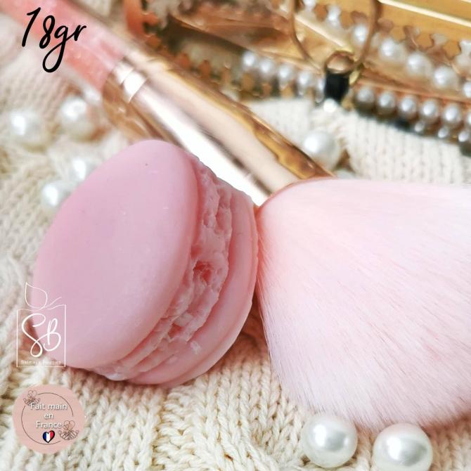 Bouquet de roses - Fondant macaron parfumé naturel - pièce