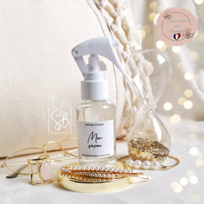 Mon savon - Spray parfumé pour le linge