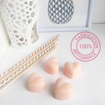 Bubblegum - Fondants parfumés naturels - lot de 4